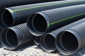 Canalisation Pipeline pompage de chantier