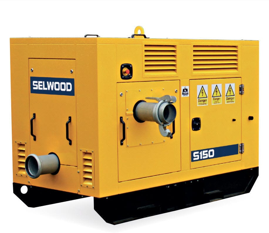 Pompe à boue _ à moteur diesel _ à vortex - S150 - Selwood