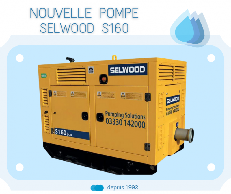 pompe selwood s160